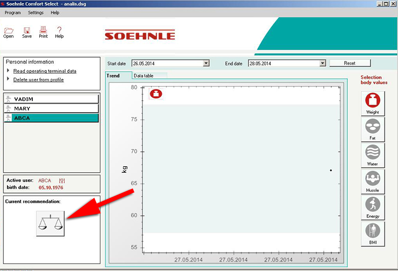 Весы в балансе - Sohnle Comfort Select