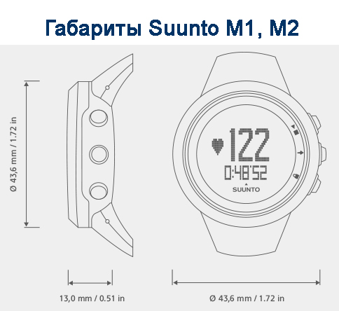 Suunto M1 инструкция на русском - фото 11
